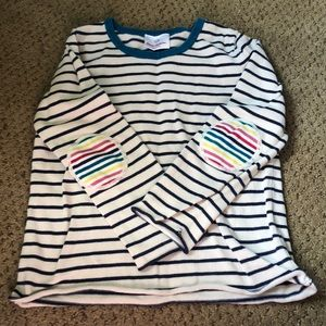 Hanna Andersson Shirts & Tops - Adorable Rainbow stripe sweater